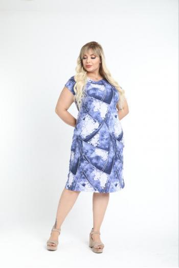 Свежа макси рокля /размери 2XL,3XL,4XL/ Mодел: 617