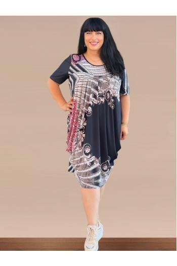 Макси рокля тип балон /Универсален размер/ Модел: 718
