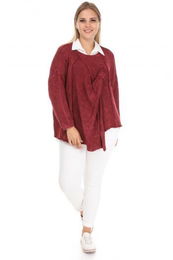 Блуза в интересен и разчупен стил. /Универсален размер/ Модел: 337