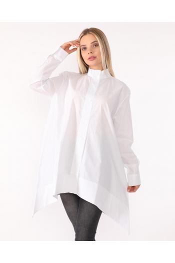 Асиметрична разкроена риза /Универсален размер/ Модел: 334