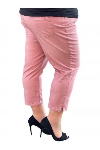 Свеж 7/8 панталон в цвят пепел от рози /размери 50,52,54/ Модел: 685