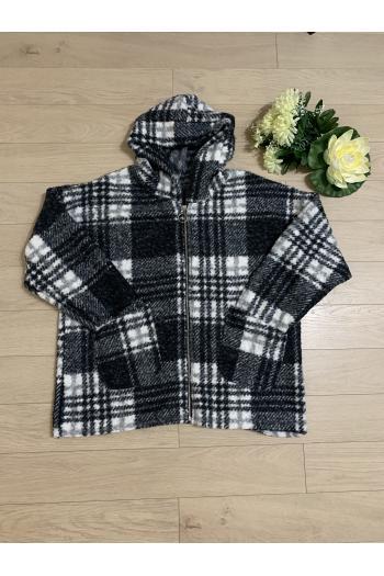 Макси палто в свеж десен /Универсален размер/ Модел: 457/IT