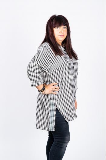 Карирана риза /размери 44,46,48/ Модел: 449/TR