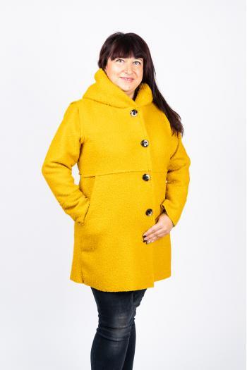 Макси палто от букле /Универсален размер/ Модел: 437/IT