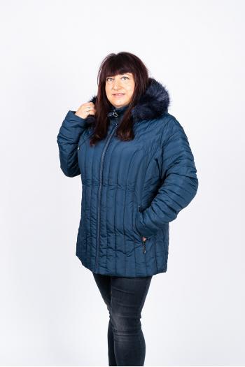 Зимно яке в тъмно синьо /размери 48,50,52,54,56/ Модел: 453/CN