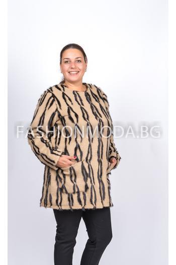 Дизайнерско палто /размери 56,58,60/