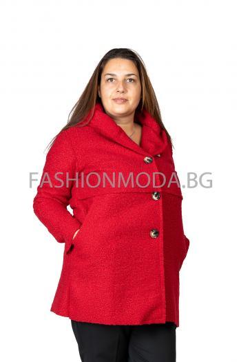 Макси палто в три цвята /Универсален размер/ Модел: 407/IT