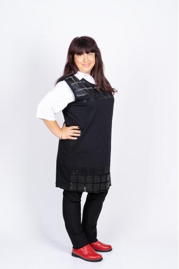 Елегантна макси риза-туника /размери 44,46,48/ Модел: 430/TR