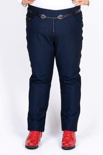 Стилен макси панталон на райе /размери 50,52,54,56/ Модел: 420/TR
