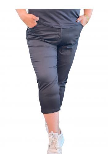 Супер макси  панталон в черно /размери 52,54,56,58,60/ Модел: 712