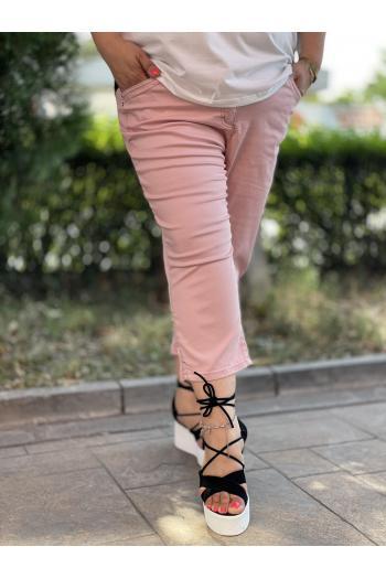 Макси панталон в цвят от пепел от рози/размери 50,52,54/ Модел: 714