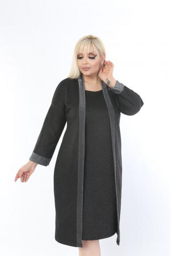 Стилна макси рокля /размери 2XL,3XL,4XL/ Модел: 286