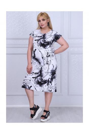Макси рокля  /размери 2XL,3XL,4XL/ Модел: 402