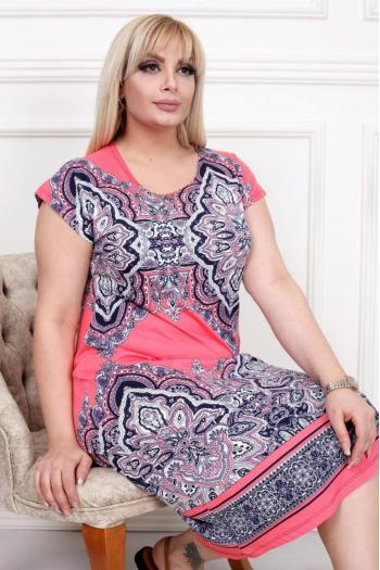 Свежа макси рокля /2XL,3XL,4XL/ Модел: 323