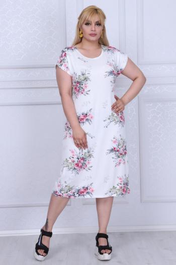 Ефектна макси рокля /размери 2XL,3XL,4XL/ Модел: 385