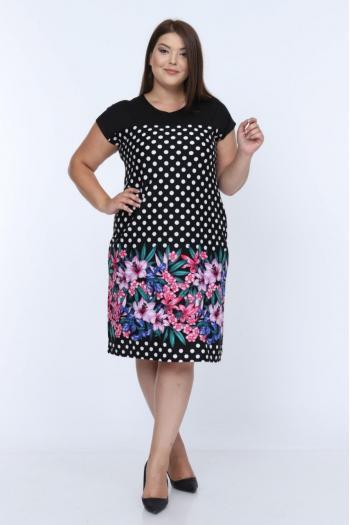Свежа макси рокля  /размери 2XL,3XL,4XL/ Модел: 363